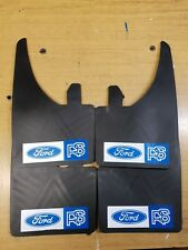 FORD RS BLUE & WHITE MUDFLAPS (SET OF 4 )