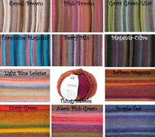 RICO DESIGN CREATIVE MELANGE CHUNKY WOOL/YARN - 50g - 11 COLOURS