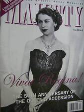 Majesty Magazine V23 #2 Royal Engagement Rings 50th Anniversary Queen's Accessio