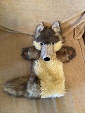Brown Wolf Hand Puppet (Forearm Length) The Puppet Company Big Bad Wolf (a5)