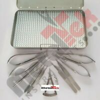 Micro surgery set Micro needle holder scissors Micro Surgical instruments