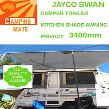 Jayco SWAN FLAMINGO privacy screen superior Camping mate SHADE WALL 3400mm 3yrW
