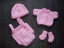 Hand Knitted Muñecas Atuendo 10-11 in Reborn/Emmy/12 in (approx. 30.48 cm) Bebé Sasha Doll