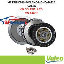 KIT FRIZIONE CON VOLANO VW GOLF 4 IV 1900 1.9 TDI DIESEL MODIFICA VALEO 826317