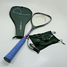 Head Comp Squash Racquet & Cover with Protective Glasses Goggles and Ball Set