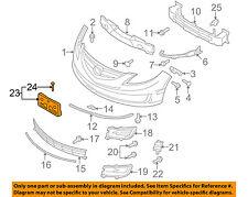 MAZDA OEM 09-13 6-License Plate Bracket Mount Holder GS3L50170B