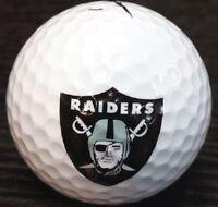 3 Dozen Nike Assorted Mint / AAAAA (Oakland Raiders NFL LOGO) Golf Balls