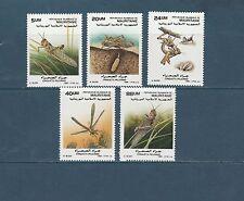 Mauritanie  faune insectes le criquet 1989   num: 623/27  **  TTB