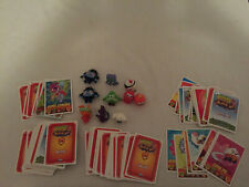 Moshi Monster Mash Up Trading Card Game Figures Minis Bulk Lot Collectable