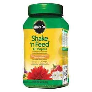 Miracle-Gro Shake 'N Feed all purpose indoor plant food 1lb