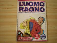L'UOMO RAGNO INDEX ITALIANO - LO SCARABOCCHIO 1995 RARO (leggere descrizione)