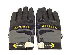 2XL Proflex Ergodyne Padded Black & Grey Full Finger Work Or Work Freezer Gloves