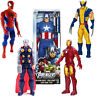 12'' Marvel Avengers Super Hero Action Figure Toy Captain Spider-Man Thor Gift