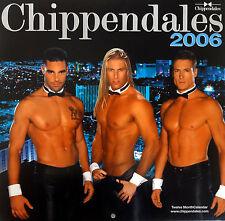 BRAND NEW! RARE CHIPPENDALES 2006 CALENDAR  -CHARLES DERA
