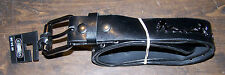 FRED MEYER MEN'S BLACK SEXY STUDDED PLAY BOY BELT SIZE M 34-36 NEW WITH TAGS!