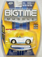 JADA BIGTIME MUSCLE '67 SHELBY GT-500 PEDAL CAR #176 WHITE W+