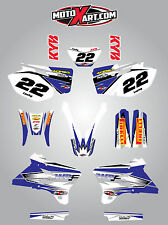 Yamaha WRF 450 - 2003 2004 stickers Full  Custom Graphic  Kit - SHOCKWAVE style