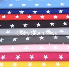 Cotton Poplin Fabric / Material - Star Fabric - 0083
