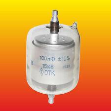 """100 pF 15 kV RUSSIAN VACUUM CAPACITOR """"B"""""""