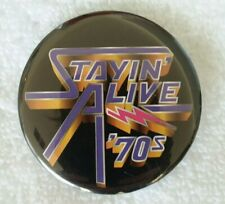 Starz Encore Stayin' Alive '70s Promotional Button
