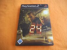 24 The Game Steelcase Alu Box Playstation 2