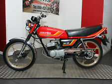 Classic 2-Stroke Sports Moped. 1983 Suzuki ZR50, X-1 50, Only 861 Miles From New