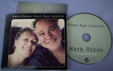 MARK OLSON Good-Bye Lizelle PROMO GLITTERHOUSE CD Folk