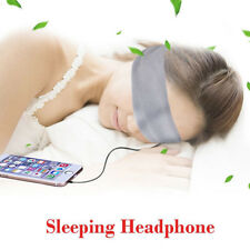 Audio Earphones Headphone Headband Sleeping Mask for Mp3 Player Smartphone / Gy