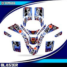 yamaha blaster yfs 200 yfs200 decals graphics stickers full kit atv quad wrap