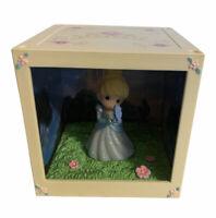 New Precious Moments Disney Showcase 2016 LED Cube Princess Cinderella Box