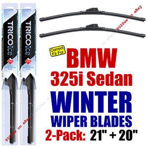 WINTER Wipers 2pk Super-Premium fit 1992-1995 BMW 325i Sedan 35210/200