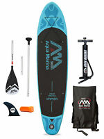 Aqua Marina Vapor 10'10 Inflatable SUP Stand Up Paddle Board Starter Pack