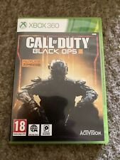 Call of Duty Black Ops III 3 Microsoft Xbox 360 Game Boxed Nice Free Postage Too
