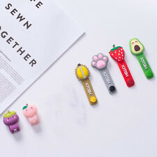 Cartoon Earphone Wires Wrap Winder Manager Cable Straps Saver Organizer