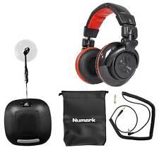 Numark Red Wave Carbon Pro Full-Range Mixing DJ Headphones+Bluetooth Speaker