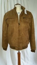 """Reportage Rea Lost Collection Suede Feel Coat Light Brown Pit to Pit 22.1/2"""""""