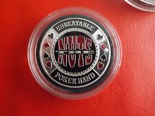 Selten!Poker Chips Poker Card-Guard Las Vegas Nevada *ca,40mm -31g.(Schub2).