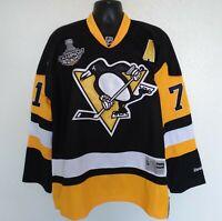Reebok Sz 56 3XL NHL Hockey Jersey Malkin Pittsburgh Penguins Stanley Cup *Read