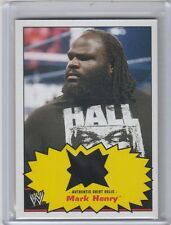 2012 TOPPS WWE HERITAGE MARK HENRY SHIRT RELIC