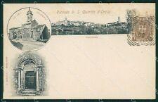 Siena San Quirico d'Orcia cartolina XB1088