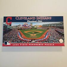 Cleveland Indians MLB 1000 Piece puzzle panoramic MasterPieces - Complete