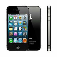 BLACK APPLE IPHONE 4S 8GB UNLOCKED CELL PHONE FIDO ROGER CHATR TELUS BELL KOODO+