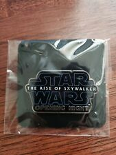 Star Wars The Rise of Skywalker Opening Night Pin movie promo new