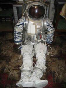 Original Russian Soviet Cosmonaut Space Suit ORLAN-M EVA ISS Extra Very RARE