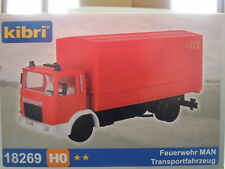 Kibri 18269 HO Feuerwehr MAN Transportfahrzeug