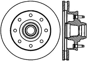 StopTech Drilled Sport Brake Rotor - st128.66027L