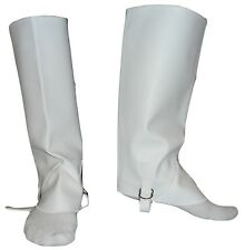 Greek Traditional Costume Accessory boots Leggings Covers White or Black MARK689