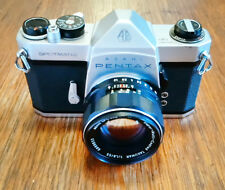 Vintage Pentax Spotmatic SP 35mm SLR with Super Takumar 55mm/f1.8 Lens