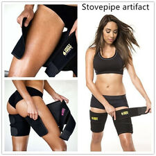 Black  Slimming Belt  Burn Cellulite Wraps Leg Loss Thigh Slimmer Shaper B L G