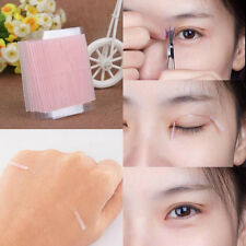 Lady 100X Thin Invisible Fiber Double Side Adhesive Eyelid Stickers Eye Tapes